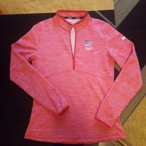 Nike Team USA Golf Halfzip Top